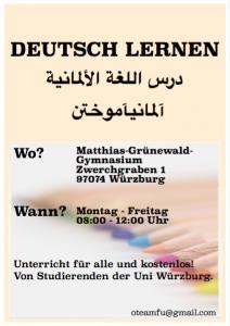kostenloser Deutschkurs